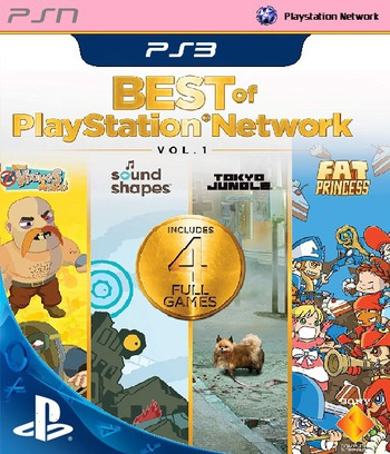 Best of PlayStation Network: Vol. 1 PS3 coverM (NPEA00372)