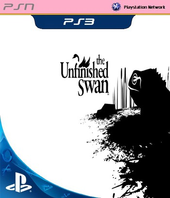 The Unfinished Swan PS3 coverM (NPEA00395)