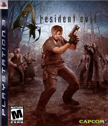 Resident Evil 4 HD PS3 coverM (NPEB00342)