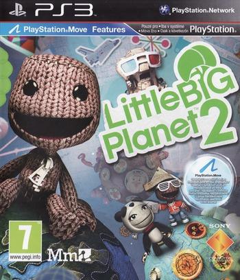 LittleBigPlanet 2 PS3 coverM (BCES00850)
