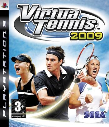 Virtua Tennis 2009 PS3 coverM (BLES00565)