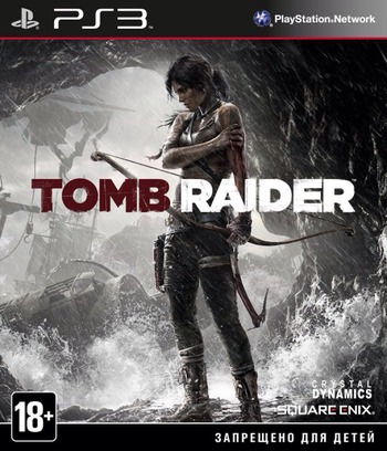 Tomb Raider PS3 coverM (BLES01781)