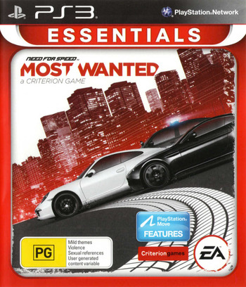 Need for Speed: Most Wanted PS3 coverM2 (BLES01659)