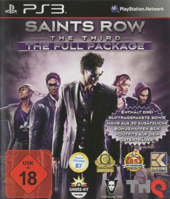 Saints Row : The Third The Full Package PS3 coverM2 (BLES01748)
