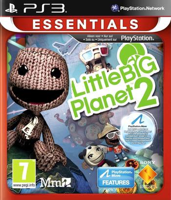 LittleBigPlanet 2 PS3 coverM2 (BCES00850)