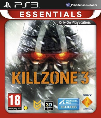 Killzone 3 PS3 coverM2 (BCES01007)