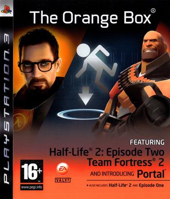 The Orange Box PS3 coverM2 (BLES00153)