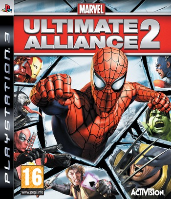 Marvel: Ultimate Alliance 2 PS3 coverM2 (BLES00546)