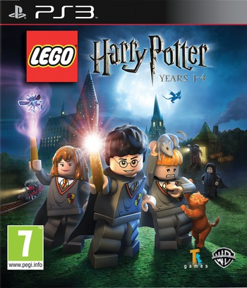 LEGO Harry Potter: Years 1-4 PS3 coverM2 (BLES00720)