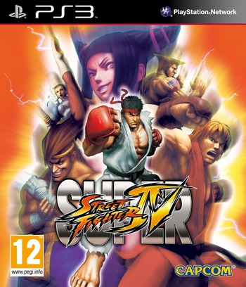 Super Street Fighter IV PS3 coverM2 (BLES00770)