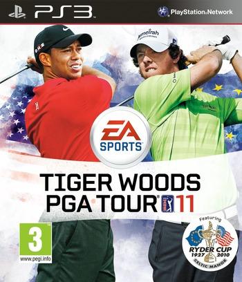 Tiger Woods PGA Tour 11 PS3 coverM2 (BLES00870)