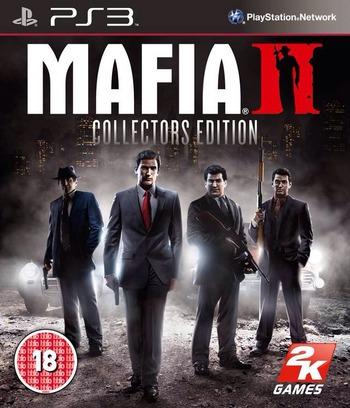 Mafia II PS3 coverM2 (BLES01166)