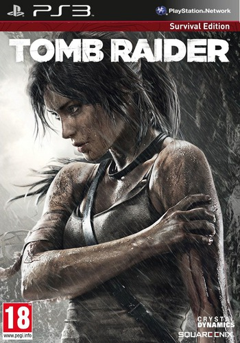 Tomb Raider PS3 coverM2 (BLES01780)