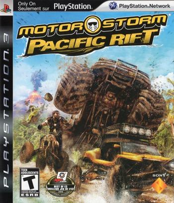 MotorStorm: Pacific Rift PS3 coverM2 (BCUS98155)