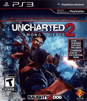Uncharted 2: Among Thieves (Game of the Year Edition) PS3 coverM2 (BCUS98257)