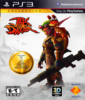 Jak & Daxter  Collection PS3 coverM2 (BCUS98281)