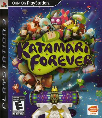 Katamari Forever PS3 coverM2 (BLUS30336)