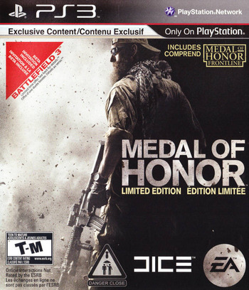 Medal of Honor PS3 coverM2 (BLUS30436)