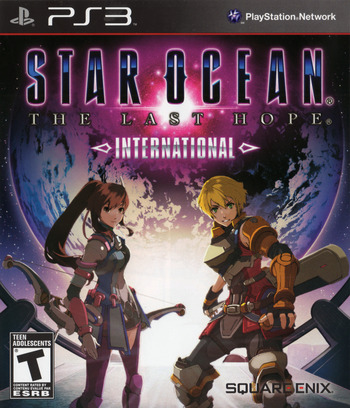 Star Ocean: The Last Hope - International PS3 coverM2 (BLUS30462)