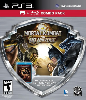 Mortal Kombat vs. DC Universe PS3 coverM2 (BLUS41027)