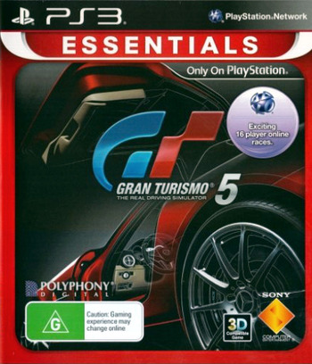 Gran Turismo 5 PS3 coverMB (BCES00569)