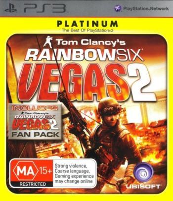 Tom Clancy's Rainbow Six: Vegas 2 PS3 coverMB (BLES00237)
