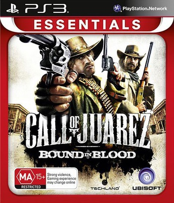 Call of Juarez: Bound in Blood PS3 coverMB (BLES00556)