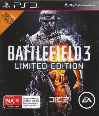 Battlefield 3 PS3 coverMB (BLES01275)