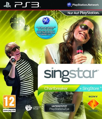 SingStar: Chartbreaker PS3 coverMB (BCES00640)