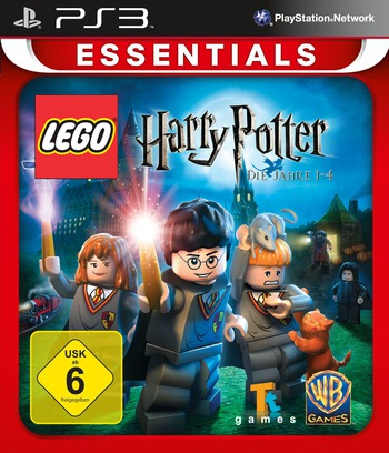LEGO Harry Potter: Die Jahre 1-4 PS3 coverMB (BLES00720)