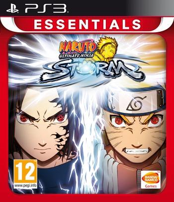 Naruto: Ultimate Ninja Storm PS3 coverMB (BLES00371)