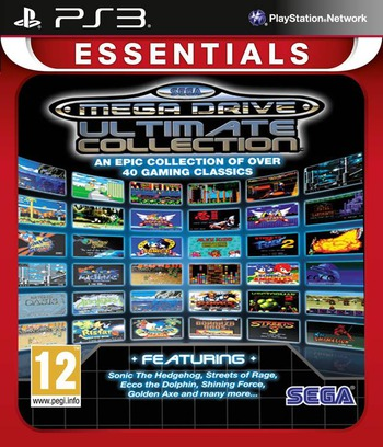 Sega Mega Drive: Ultimate Collection PS3 coverMB (BLES00475)