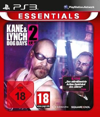 Kane & Lynch 2: Dog Days PS3 coverMB (BLES00604)