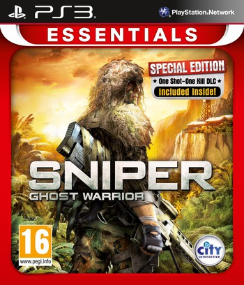 Sniper: Ghost Warrior PS3 coverMB (BLES01286)