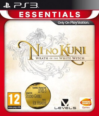 Ni no Kuni: Wrath of the White Witch PS3 coverMB (BLES01555)