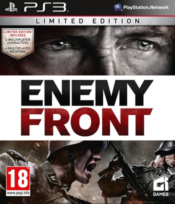 Enemy Front PS3 coverMB (BLES01654)