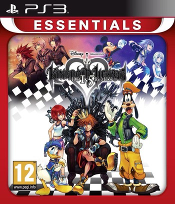 Kingdom Hearts HD 1.5 ReMIX PS3 coverMB (BLES01897)