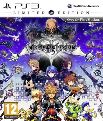 Kingdom Hearts HD 2.5 ReMIX PS3 coverMB (BLES02070)