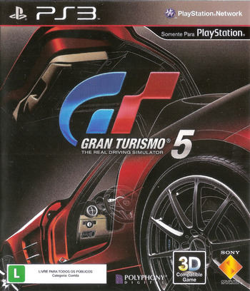 Gran Turismo 5 PS3 coverMB (BCUS98114)