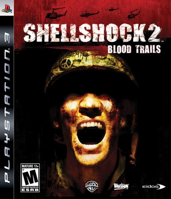 Shellshock 2: Blood Trails PS3 coverMB (BLUS30225)