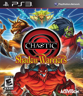 Chaotic: Shadow Warriors PS3 coverMB (BLUS30389)
