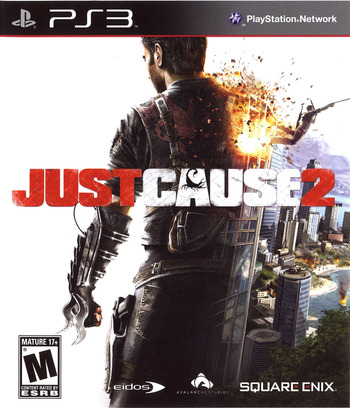 Just Cause 2 PS3 coverMB (BLUS30400)