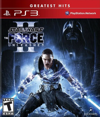 Star Wars: The Force Unleashed II PS3 coverMB (BLUS30534)