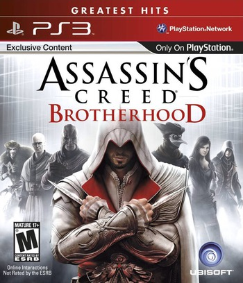 Assassin's Creed: Brotherhood PS3 coverMB (BLUS30537)