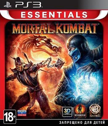Mortal Kombat PS3 coverMB (BLES01132)