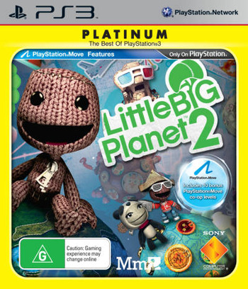 LittleBigPlanet 2 PS3 coverMB2 (BCES00850)