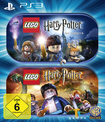 LEGO Harry Potter: Die Jahre 1-4 PS3 coverMB2 (BLES00720)