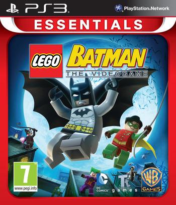 LEGO Batman: The Videogame PS3 coverMB2 (BLES00332)