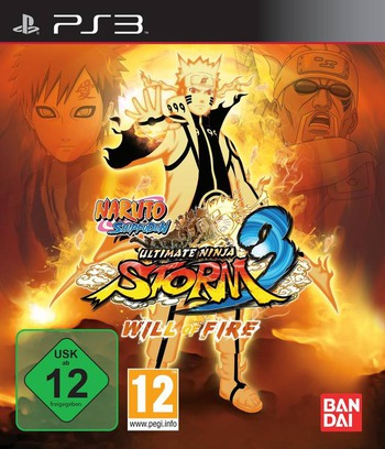 Naruto Shippuden: Ultimate Ninja Storm 3 PS3 coverMB2 (BLES01764)