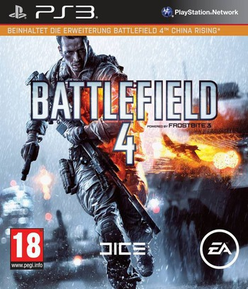 Battlefield 4 PS3 coverMB2 (BLES01832)